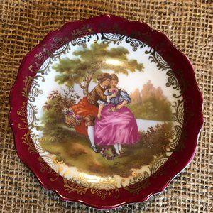 Vintage Limoges Trinket Plate Made in France